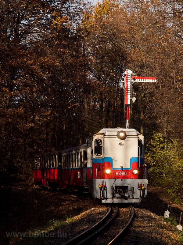 A Gyermekvasút Mk45 2003 pá fotó