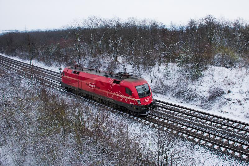Az ÖBB/RailCargoAustria 1116 016-7 Bicske és Szár között  fotó