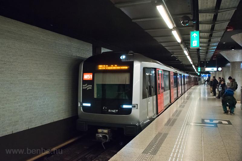 Az amszterdami metró  fotó