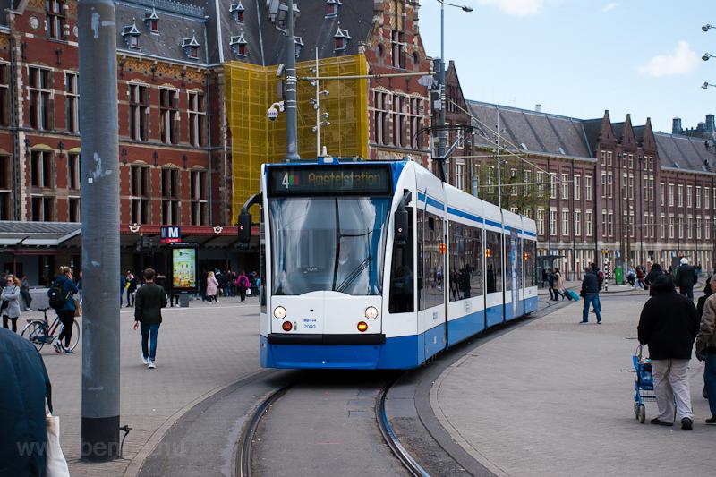 Amszterdami villamosok  fotó