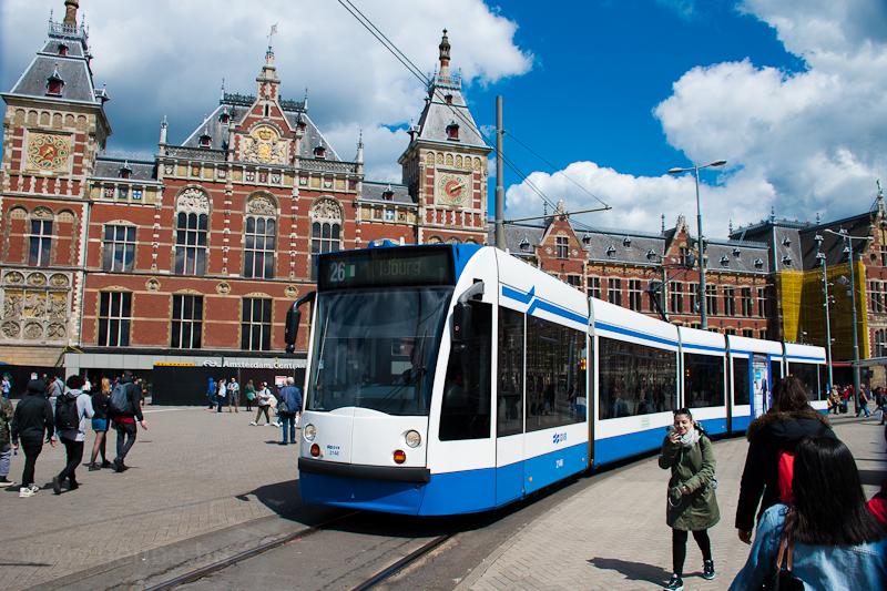 Amsterdam tram photo