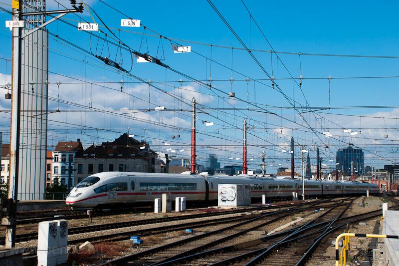 Holland NS ICE3 Bruxelles Midi / Brussels Zuid állomáson fotó