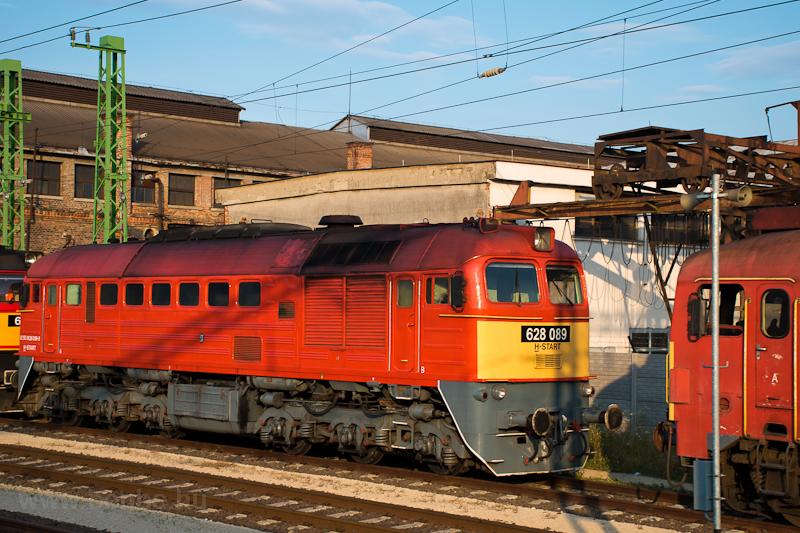 A MÁV 628 089 Székesfehévár állomáson  fotó