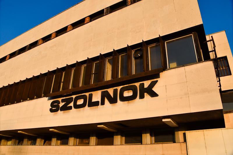 Szolnok railway station photo