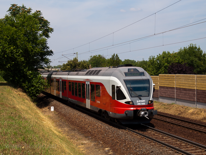 The 415 033 sen near Rákos photo