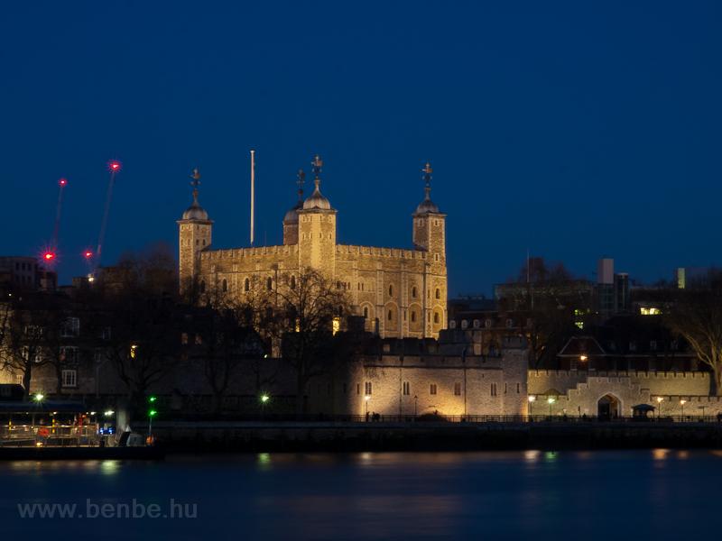 A Tower kastély Londonban fotó