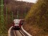 A 426 011 pályaszémú Desiro a piliscsabai alagútnál Pázmáneum és Szabadságliget között