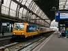 The NS E186 120 TRAXX seen in front of an InterCityDirect train heading for Breda at Amsterdam Centraal