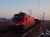 Az ÖBB 1116 013 üres szénvonattal Dunaújváros külsőnél