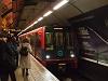 A Docklands Light Railway (DLR) automata vezetésű motorvonata Bank állomáson