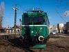 A BKV-BHÉV LVII. 86 pályaszámú Tigrise Csepel végállomáson