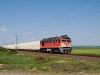 A MÁV-START 628 332 OMYA-vonattal Füzesabonynál