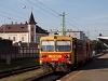 117 378 Győrben, a háttérben a Deutsche Bahn székháza (na nem a frankfurti)