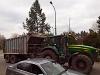 Cukorrépa szállító traktor Szentesen