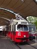 Wiener Linien E1 villamos a bécsi 49-es vonalon a Burggasse/Stadthalle megállónál