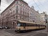 A Wiener Lokalbahnen régi szerelvénye (124-es kocsi)