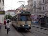 A Wiener Lokalbahn régi motorvonata Bécsen belül villamosként közlekedik (114-es kocsi)