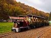 A Kemencei Erdei Múzeumvasút Pankaszi mozdonya Feketevölgy állomáson