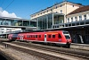 A DB 612 157 Regensburg Hauptbahnhof állomáson