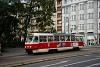 A Tatra T3 seen in Prague