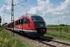 A MÁV-START 426 022 pályaszámú Desiro motorvonat a Ráckevei HÉV-en Egyetemi Tangazdaságnál