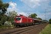 Az ÖBB 1116 042 pályaszámú Taurus egy railjet-vonattal Almásfüzitő felső és Szőny között