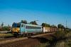 A 630 143-as Gigant tehervonatot húz Szemeretelepnél