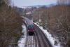 Az ÖBB 80-90.710 railjet-vezérlőkocsija Szárliget és Szár között