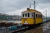 A BKV Budapest 2806 pályaszámú, favázas villamosa