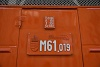 he new number plate of the MÁV M61,019 Nohab