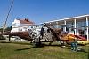 MIL Mi-24 HIND típusú csapatszállító és csapásmérő képességgel is fölszerelt harci helikopter kiállítva a szolnoki REPTÁR-ban