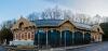 Zugliget, a felújított lóvasúti végállomás - panorámakép