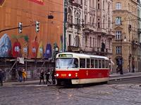 Tatra T3 number 8335 seen in Prague