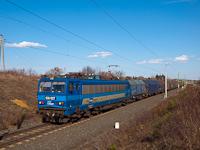 A MÁV-START (RailCargoHungaria festésű) 630 027 pályaszámú Gigant tehervonattal Zalalövő és Felsőjánosfa között