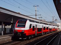 Az ÖBB 4746 025 pályaszámú CityJet motorvonata Wien Floridsdorfban