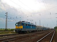 A V43 1018 gipszvonattal Nagyúton