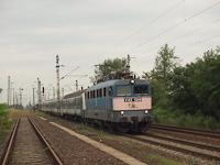 V43 1249 egy kör-IC vonattal Mezőkeresztes-Mezőnyárádon