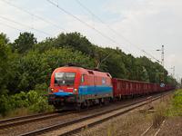 Az RCH 1116 010-8 Mezőkeresztes-Mezőnyárádon üres, Visontáról érkezett lignitvonattal