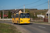 The Ikarus C56 of Vilánbusz at Szob