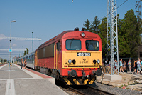 A Máv-Start 418 165 Sárospatakon
