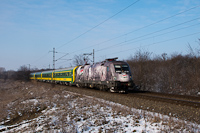 The MÁV-START 470 001 seen between Herceghalom and Biatorbágy
