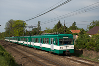 A BKV MX/A 986 Kistarcsánál