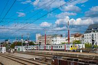 Egy AM66JH sorozatú motorvonat Brüsszelben a Gare de Midi-n