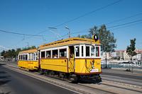 A BKV Budapest 2806 pályaszámú, favázas villamosa fotósmeneten póttal a Szent Gellér rakparton