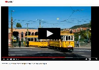 [VIDEO] Photo charter with woodframe tram 2806, open day at Budafok and an unplanned visit to Szépilona depot
