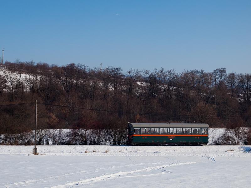 A Királyréti Erdei Vasút M06 401 Szokolya-Riezner és Paphegy között fotó
