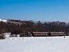 A Királyréti Erdei Vasút Mk48 2014 Szokolya-Riezner és Paphegy között