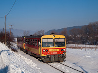 The MÁV-START 117 310 seen between Nógrád and Berkenye