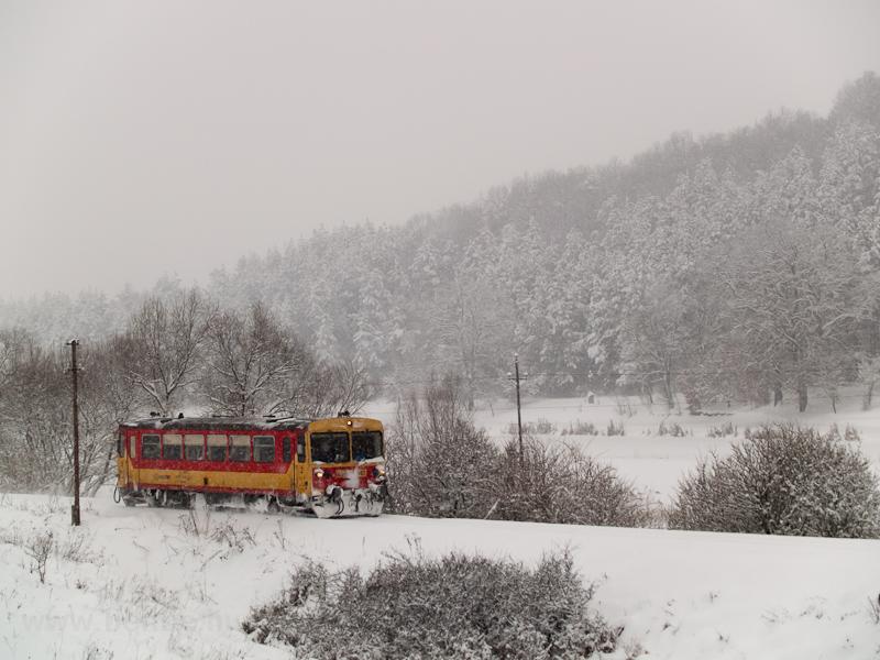 A Bzmot 342 Berkenye és Szokolya között fotó