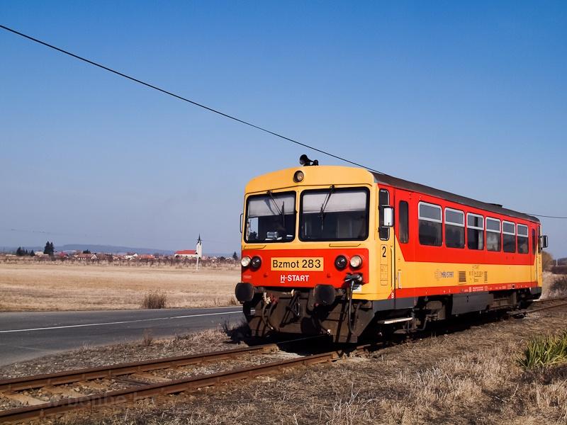A Bzmot 283 Ipolytarnóc és Litke között fotó